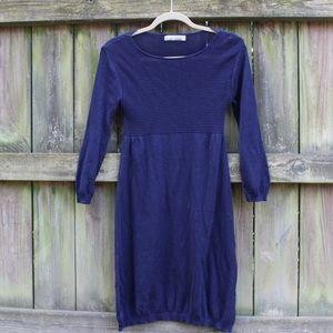 Zara light sweater dress